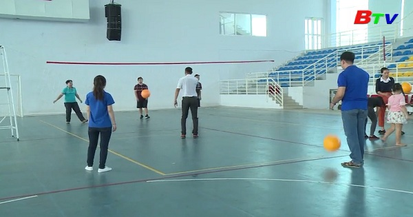Sở VH-TT-DL Bình Dương tổ chức lớp tập huấn môn bóng chuyền hơi