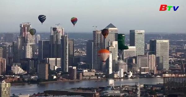 Rực rỡ liên hoan khinh khí cầu thường niên ở Anh