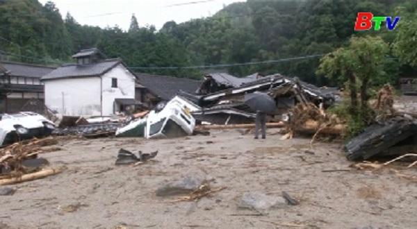 Mưa lũ khiến 15 người thiệt mạng ở Nhật Bản