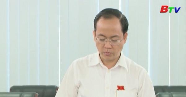 Chuẩn bị nội dung chất vấn tại kỳ họp thứ 4 HĐND tỉnh