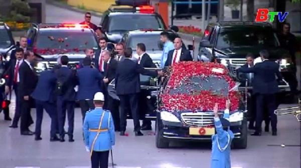 Tổng thống Thổ Nhĩ Kỳ Tayyip Erdogan tuyên thệ nhậm chức nhiệm kỳ mới