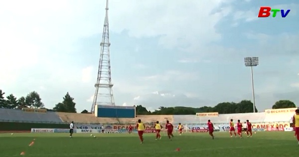 Trước Vòng 17 V.League 2017 - Hải Phòng - B.Bình Dương