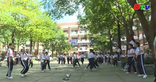 Hoạt động dạy và học của Trường THCS Nguyễn Viết Xuân