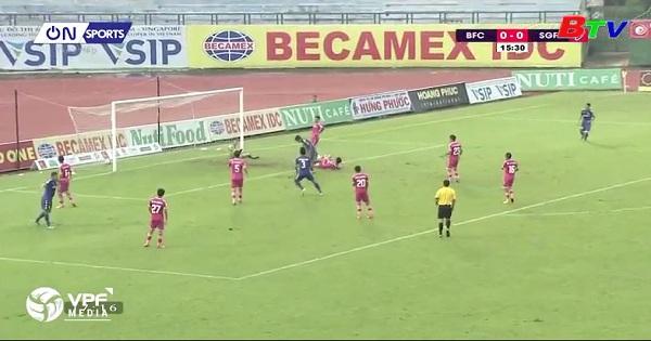Thông tin trước trận Sài Gòn - B.BD Vòng 21 V.League 2018