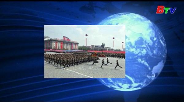 Triều Tiên duyệt binh mừng quốc khánh