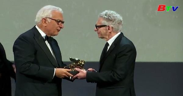 David Cronenberg nhận giải thưởng Thành tựu Trọn Đời tại LHP Venice