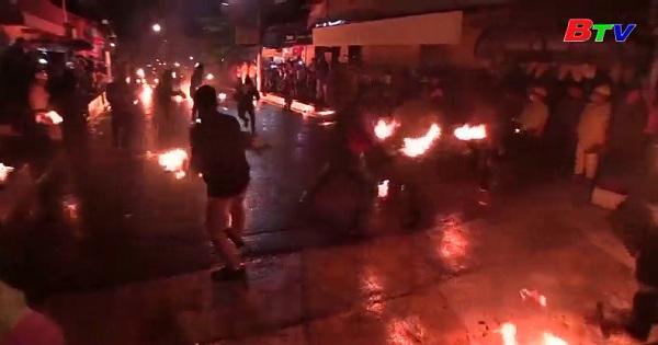 EL SALVADOR: Rực rỡ lễ hội cầu lửa