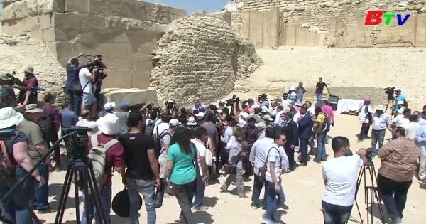 Ai Cập mở cửa mộ cổ cho công chúng tham quan
