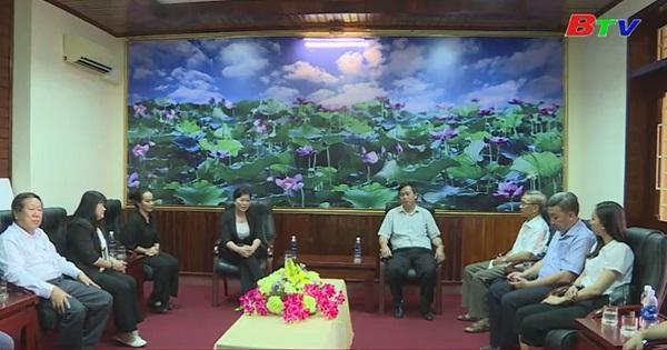 Bình Dương thăm, hỗ trợ tỉnh Quảng Trị khắc phục sau bão
