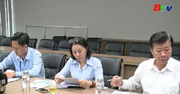 Phó Chủ tịch UBND tỉnh làm việc với Sở Công thương