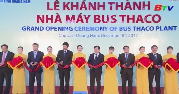 Việt Nam đã có nhà máy sản xuất xe buýt