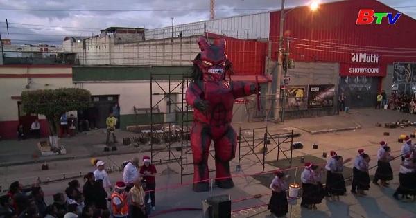 Độc đáo nghi lễ xua đuổi ma quỷ đón giáng sinh  tại Guatemala