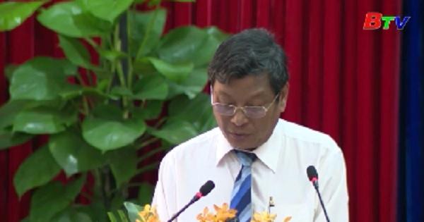 Chất vấn và trả lời chất vấn tại kỳ họp thứ 12 - Hội đồng nhân dân tỉnh khóa IX