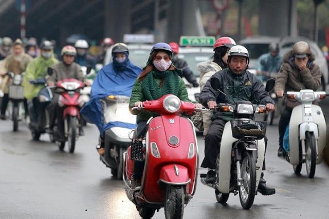 Bắc Bộ tiếp tục mưa rét trên diện rộng