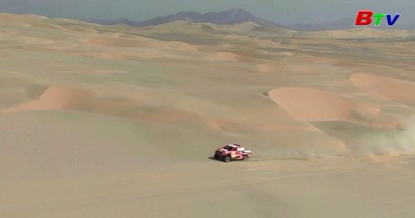 Chặng 3 Giải đua xe đường trường Dakar Rally 2018