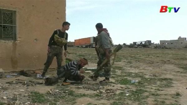 Dân quân Syria tấn công thành trì cuối cùng của IS