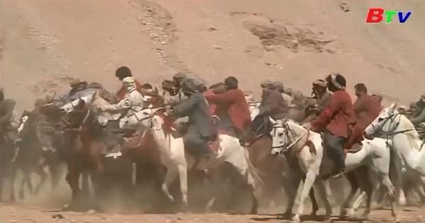 Afghanistan - môn thể thao Buzkashi