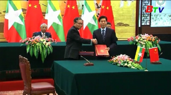 Trung Quốc và Myanmar thúc đẩy quan hệ song phương