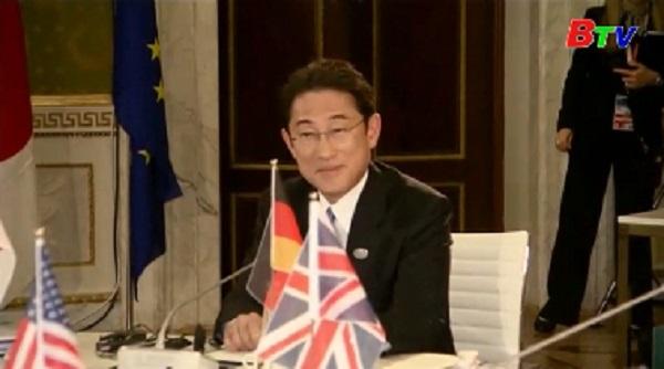 G7 thảo luận các vấn đề an ninh toàn cầu