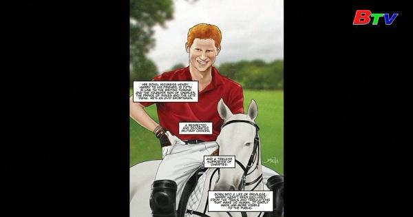 Xuất bản truyện tranh về hoàng tử Harry và Meghan