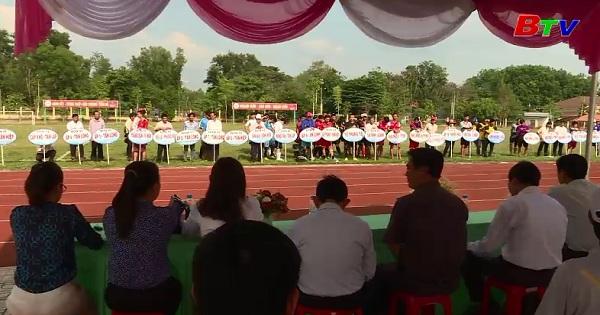 Huyện Phú Giáo tổ chức giải bóng đá khu phố, ấp văn hóa năm 2018