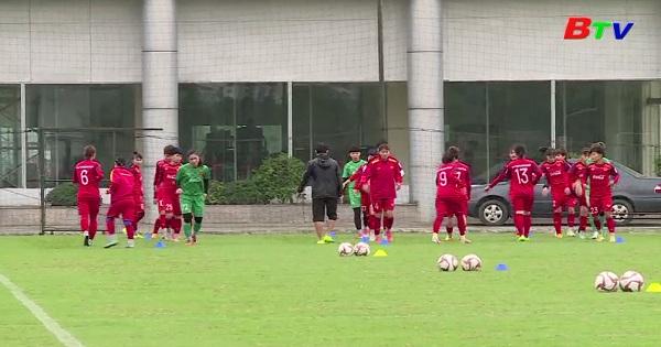 Tuyển bóng đá nữ Việt Nam giành vé vào vòng loai  thứ 3 Olympic Tokyo 2020