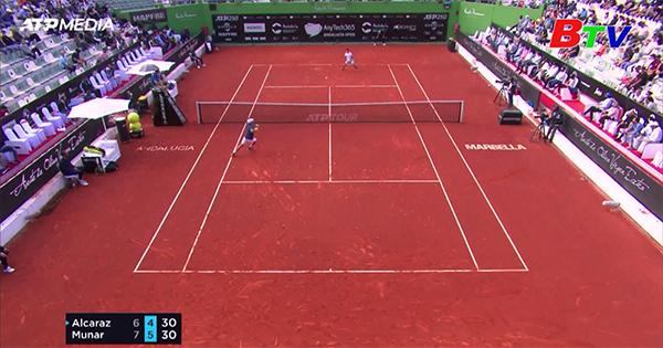 Pablo Carreno Busta và Jaume Munar vào chung kết Giải quần vợt Andalucia Open 2021