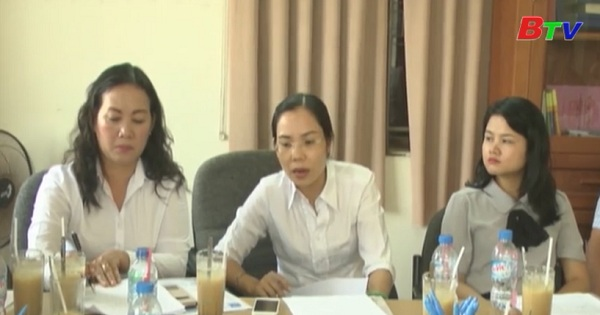 Ban Pháp chế Hội đồng Nhân dân tỉnh giám sát hoạt động của văn phòng công chứng Rồng Việt, thị xã Dĩ An