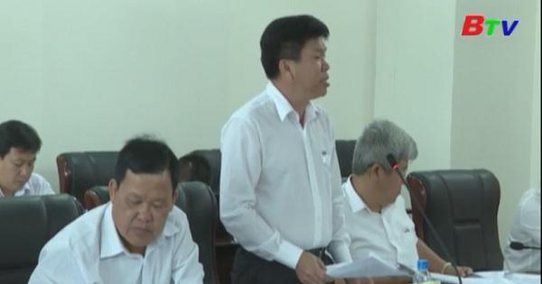 UBND tỉnh họp thông qua dự thảo Diện tích tối thiểu được phép tách thửa đối với các loại đất trên địa bàn tỉnh