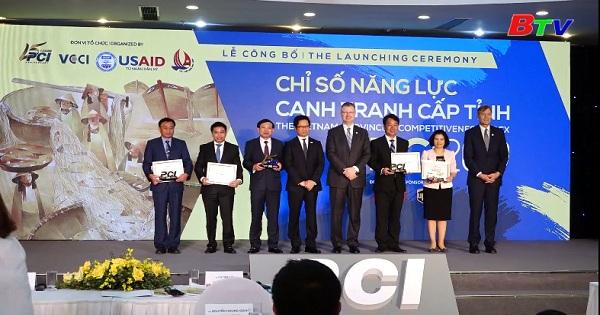 PCI 2019, Bình Dương tiếp tục đứng đầu trong khu vực Đông Nam Bộ