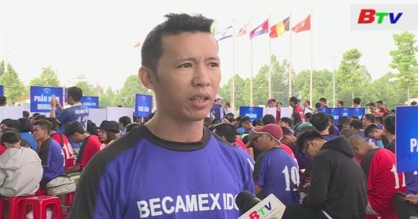 Khai mạc Giải bóng đá Becamex IDC lần thứ XIII năm 2018