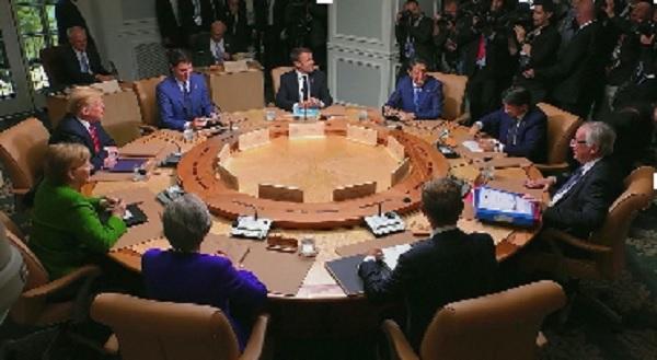 Các lãnh đạo G7 nhóm họp thượng đỉnh