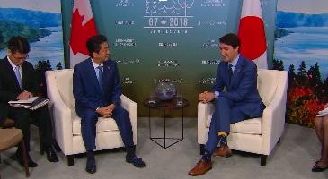 Thủ tướng Canada thảo luận với lãnh đạo Nhật Bản, Đức và EU