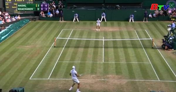 Roberto Bautista Agut, Rafael Nadal và Andy Murray  vào vòng 4 quần vợt Wimbledon 2017