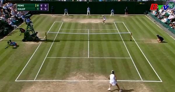 Venus Williams và Simona Halep vào vòng 4 Giải quần vợt Wimbledon 207