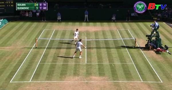 Novak Djokovic vào vòng 4 Quần vợt Wimbledon 2017