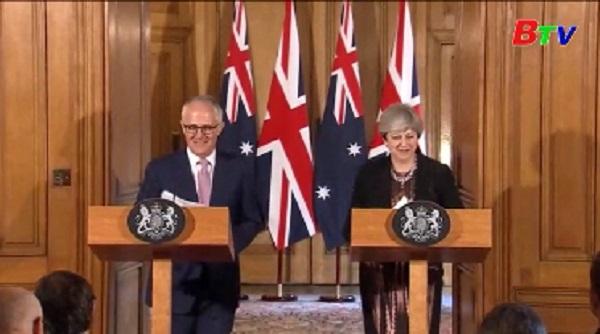 Australia muốn thỏa thuận FTA với Anh sớm nhất sau Brexit