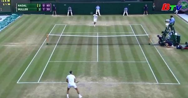 Kết quả vòng 4 đơn nam Wimbledon 2017