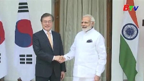 Ấn Độ, Hàn Quốc ký 11 bảng ghi nhớ