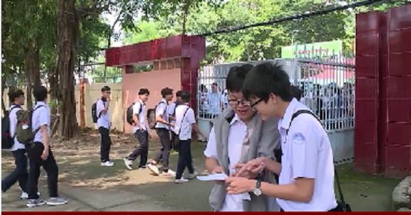 Kết thúc kỳ thi tuyển sinh lớp 10: Không có thí sinh vi phạm