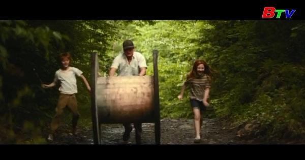 Woody Harrelson và  Brie Larson  quảng bá  phim