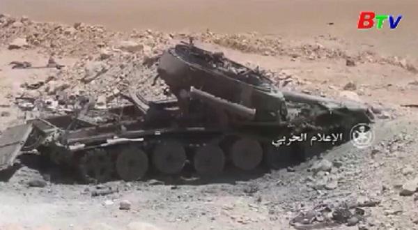 Quân đôi Liban tấn công các vị trí của IS tại biên giới với Syria