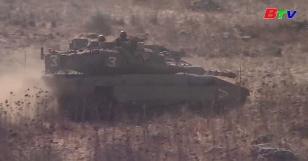 Israel lại không kích mục tiêu Hamas