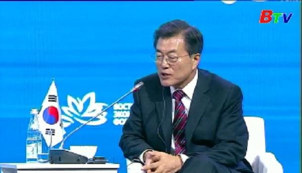 Tổng thống Hàn Quốc khẳng định triển khai THAAD là tất yếu
