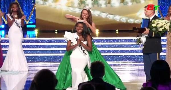 Miss New York đăng quang hoa hậu Mỹ 2019