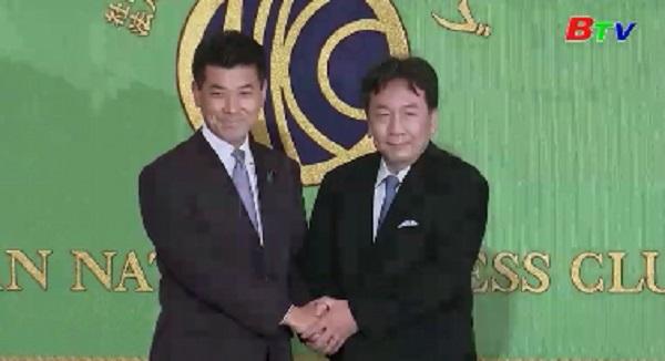Các đảng đối lập Nhật Bản có tên gọi mới