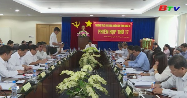 Thường trực HĐND tỉnh tổ chức phiên họp lần thứ 17
