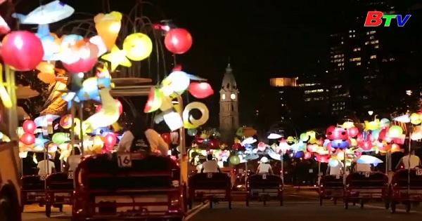 Triển lãm đèn lồng thắp sáng thành phố Philadelphia
