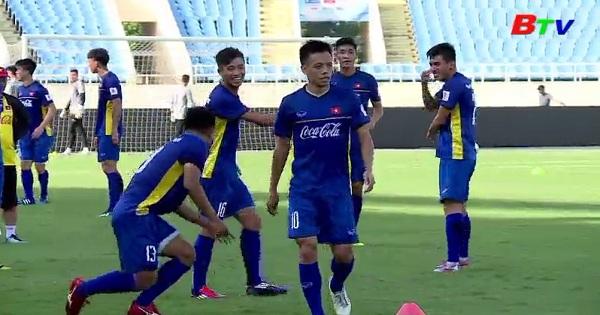 Đội tuyển Việt Nam hội quân chuẩn bị AFF Cup 2018