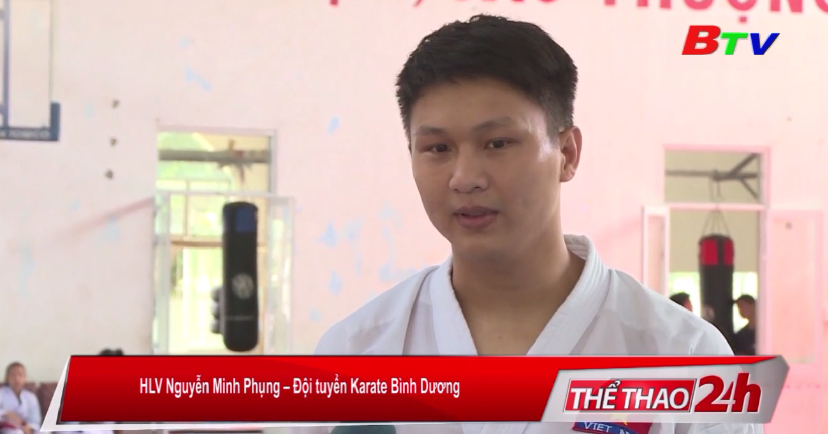 Karate Bình Dương trẻ hóa lực lượng